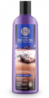 Шампунь «СЕВЕРНОЕ СИЯНИЕ» максимальное очищение и свежесть волос NATURA KAMCHATKA