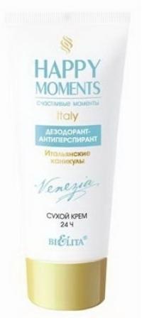Дезодорант-антиперспирант «Итальянские каникулы» HAPPY MOMENTS