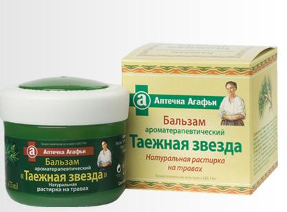 "Бальзам Ароматерапевтический ""Таежная звезда"""