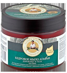 Мыло для волос и тела Кедровое