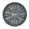 Тени минеральные для век, тон 1224 Alluminium, сатиновые