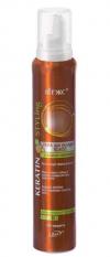 Пена для укладки волос с жидким кератином суперсильной фиксации Keratin