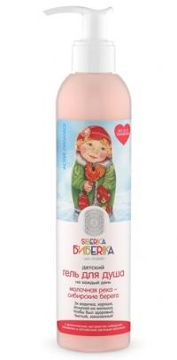 """Гель для душа """"Молочная река-сибирские берега"""" Siberica Бибеrika"""