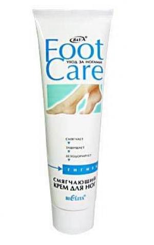 Крем для ног Смягчающий FOOT CARE