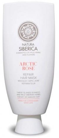 Маска для сухих и повреждённых волос Восстанавливающая «Арктическая роза» Natura Siberica Copenhagen