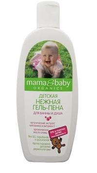 """Гель-пена Детская для ванны и душа """"Нежная"""" MAMA&BABY"""