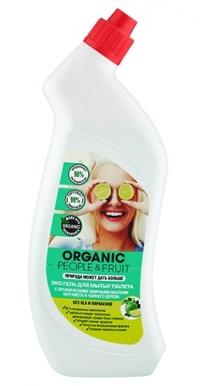 """Гель для мытья туалета ЭКО """"Органические эфирные масла бергамота и чайного дерева"""" ORGANIC PEOPLE&FRUIT"""