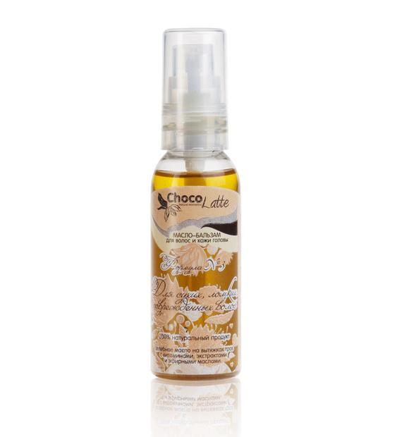 Масло-бальзам для волос ФОРМУЛА №3 для сухих ломких и поврежденных волос