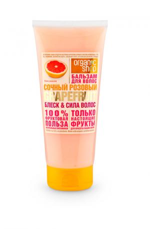 """Бальзам для волос """"Сочный розовый грейпфрут"""" Organic Shop Фрукты"""