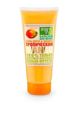 """Бальзам для волос """"Тропический манго"""" Organic Shop Фрукты"""