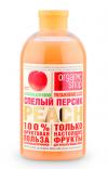"""Гель для душа """"Спелый персик"""" Organic Shop Фрукты"""